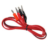 DANIU Mini Alligator Clip Test Lead Cable for Digital Multimeters