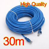 Cabo da rede do LAN do Ethernet de 30M 100 FT RJ45 CAT5 CAT5E