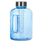 Borraccia 2.2L / 84oz BPA gratuita per acqua di grande capacità per sport d'acqua Gym Allenamento per allenamento Bollitore per campeggio Escursionismo Ciclismo