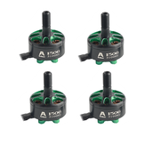 4 PCS Flashhobby Arthur Series A1506 1506 3100KV 3-6S Brushless Motor 5mm eixo para 3-4 polegadas Freestyle RC Drone FPV Racing
