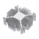20W-100W DIY Heatsink Aluminium Radiator Cooling for COB LED Chip