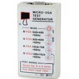 5-12 V Przenośny VGA SVGA XGA Color Test Generator sygnału V2.0 60 HZ F LCD i CRT Wyświetlacz Tester