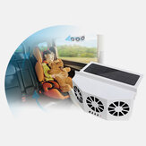 4500Rpm Solar Powered Car Auto Vehicle Window Air Vent Exhaust Cooling Box Fan Ventilation for Outdoor Travel