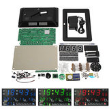 EQKIT® DC9-12V Electronic Calendar Soldering Kit High Precision DIY Clock Kit