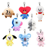 Plush Cute Doll Key Chain Creative Animal Keychain Pendant