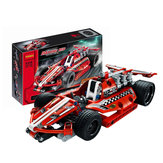 DECOOL 3412 Technic Raceauto 158PCS Bouwstenen Speelgoed Sets voor kinderen Model Speelgoed