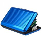 IPRee® Aluminum Alloy Card Holder Antimagnetic Credit Card Case Portable ID Card Storage Box