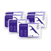 SOOCAS 300Pcs Dental Floss Picks Interdental Between Teeth Cleaner Tools with 6 Travel Handy Case from Ecosystem