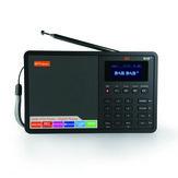 GTMedia D1 DAB Plus FM Bluetooth 4.0 Stero-radio-ontvanger met ingebouwde luidspreker-ondersteuningsklok