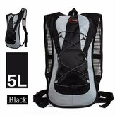 IPRee 5L Menjalankan Hydration Backpack Rucksack 2L Straw Water Bladder Bag Untuk Hiking Climbing