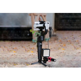 MOZA MINI-S 3-as opklapbaar pocketformaat handheld gimbalstabilisator voor iPhone X smartphone GoPro