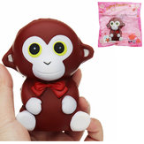 Monkey Squishy 10.5*9*7CM Slow Rising Soft Animal Collection Gift Decor Toy With Packaging