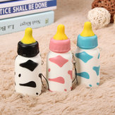 Squishy Milk Nursing Fles Toy Leuke Kawaii Phone Bag Riem Hanger 10x4cm