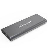 ブルードレスM280A M.2 NGFFハードドライブエンクロージャSSD HDDエンクロージャ5Gbps USB 3.0ソリッドステートドライブエンクロージャケースハードドライブディスクベース