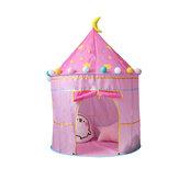 يلعب الأطفال خيمة فتاة قابلة للطي أميرة القلعة للأطفال لعبة خيمة التخييم السفر المنزل