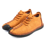 Men Soft Sole Leather Ankle Boots