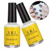 White Glue Nail Art Transfer Tips Klej Galaxy Star Foil Sticker 16ml