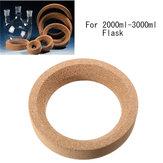 163x114mm Laboratory Cork Stands Ringkorker til 2000ml-3000ml Flaske
