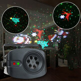 RGB+White Disco Light DJ LED Laser Stage Projector Wedding Birthday Christmas Party Lamp