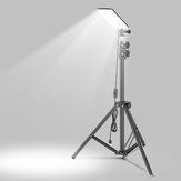 VVXANES® 84 * LEDs 1680LM Luz de suporte de acampamento com lanterna de tripé ajustável de altura de 1,8 m Luz de trabalho para acampamento Manter fotografia