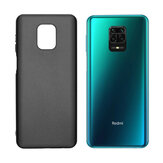 Bakeey Pudding Frosted Shockproof Ultra-thin Non-yellow Soft TPU Protective Case for Xiaomi Redmi Note 9S / Redmi Note 9 Pro / Redmi Note 9 Pro Max Non-original
