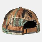 抽象的なパターンつばのない帽子スカルキャップマルチカラーSoftフェルトカスタマイズされた帽子