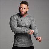 Muscle Fitness hommes costume de sport sweat à capuche en coton hommes Sweatshirts Gym formation Hoodies Joggers vêtements pantalons de survêtement