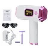 2в1 999999 миганий Лазер Постоянный IPL Волосы Аппарат для удаления кожи тела Эпилятор безболезненный