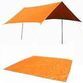 Carpa Estera de Quitasol Naturehike de 3-4 Personas Toldo de Tela de Lona de Oxford Sun Shelter Con Bolsa
