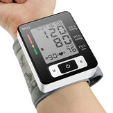 Boxym Home Automatic Muñequera Presión arterial Monitor Presión arterial Voz Oxígeno digital Glucosa en sangre Instrumento de presión arterial