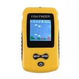100M 125KHz LCD Fish Finder Rechargeable Wireless Sonar Sensor Transducer Portable Fishing Lure Sounder TL86