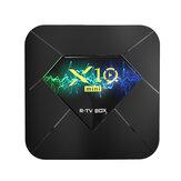 X10 Mini Allwinner H313 DDR3 1GB RAM eMMC 8GB ROM 2.4G Wifi bluetooth 4.1 Android 10.0 4K TV Caja Soporte VP9 H.265 4K @ 60fps