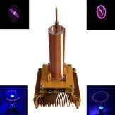 音楽テスラコイルアクリルシェルアークプラズマスピーカーワイヤレス伝送実験デスクトップおもちゃモデルゴールド
