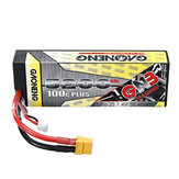 Gaoneng 7.4V 5200mAh 100C 2S Lipo Battery XT60 Plug for 1:10 RC Car