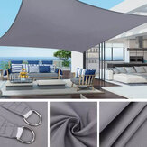 3x2m Waterproof Sun Shade Sail UV Proof Block Outdoor Canopy Patio Garden Yard Pool Cover