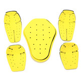 5szt CE Motorcycle Jacket Hard Armor Protector Scooter Protective Pads
