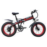 SMLRO S9 20in 48V 10Ah500W折りたたみ式電動自転車35km / h最高速度50-60KM走行距離範囲Eバイクマウンテンバイク