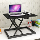 Simple and Modern Standing Notebook Folding Table Home Desktop Desk Simple Liftable Standing Computer Desk for Home and Office
