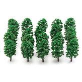 20 adet Mini Köknar Ağaçları Modeli Tren Demiryolu Ormanı Sokak Manzara Düzeni Süslemeleri