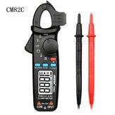 MESTEK CM82C RMS Digital Clamp Meter DC AC Current Voltage Ampere NCV Ohm Tester Ammeter Multimeter Electrician Tool