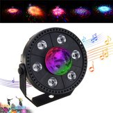 RGB LED Bühne Licht Strobe Licht Kristallkugel Party Club DJ Disco Atmosphäre Licht AC90-265V