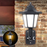 Zonne-energie LED-lichtpad Way Wall Landscape Mount Outdoor Garden Fence Lamp Solar Lights
