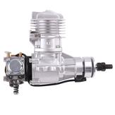 Silnik benzynowy DLE DLE20RA 20CC jednocylindrowy dwusuwowy tylny wydech chłodzony powietrzem rozruch ręczny z zapłonem i rurą wydechową do samolotu RC