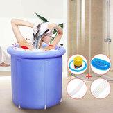 НадувнаяваннаПортативнаяпластиковаяваннаиз ПВХ Складная вода Место Room Spa Массаж Ванна