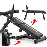 Miking Folding Sit Up Bench Abdominal Muscle Board Multifunctional Dumbbell Bench 5 Height Adjustable Fitness Gym Home Exercise