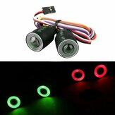 Red or Green LED Lights Headlight For 1/10 4WD Rock Crawler Axial SCX10 RC Car