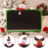3stylenoëlordinateurportableLCD écran moniteur décor housse 19-27