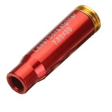 Red CAL 7.62x39 Laser Boresighter Red Dot Sight Cartucho De Latão Bore Sighter Calibre