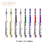Naomi Excellent Nickel Plated C Key Piccolo W/ Case Cleaning Rod And Cloth And Gloves Cupronickel Piccolo Set