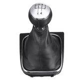 5 Speed Shift Pookknop Boot Cover PU Leer Voor VW EOS GOLF MK5 V 6 VI